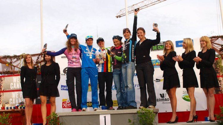 The 2010 Press World Championships Women's Podium