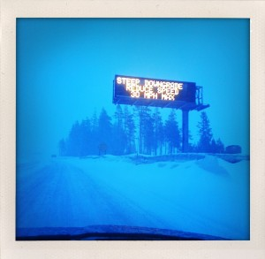 Donner Summit was a snowy, stormy mess. by {Stardustza} on flickr