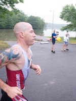 """Iron Mike"" Hebe at Warrior Tri Photo by Kevin Zutell"