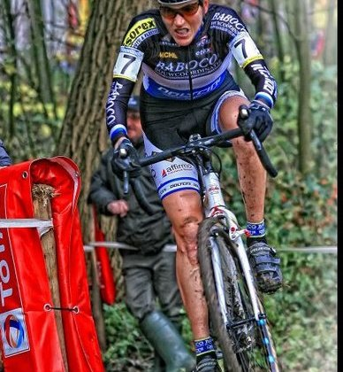 Christine Vardaros Fighting Hard at the Gavere © Danny Zelck