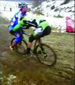 Jingle Cross 2008 Cyclocross Crash Video on Mt. Krumpit