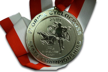 Florida State Championship medal. Photo courtesy
