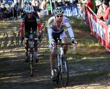 Nys (l) was one of the only riders able to match the pace of Stybar. © Bart Hazen