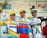 Stybar finally takes the top spot on the podium.  ©Bart Hazen