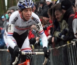 Helen Wyman (Kona / FSA), shown here racing Azencross, repeats as British National champ © Bart Hazen