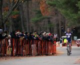 Luke Keough (Champion System p/b Keough Cyclocross) takes his second win at Northhampton in the Cycle-Smart International race. © Natalia Boltukhova | Pedal Power Photography | 2010