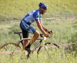Lee mixing it up in the Green Mountain short track series © Annette Hayden