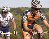 Valentin Scherz (r) takes advantage of the American UCI races. © Dennis Smith/dennisbike.com