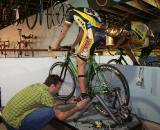 Fine-tuning the cyclocross fit © Brody Boeger