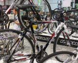 The Redline booth was full of cross goodies. © Cyclocross Magazine