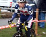 Jeffery Bahnson heads to the finish at Azencross 2009. © Dan Seaton