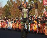 Johnson wins his third Elite National Championship. © Cyclocross Magazine