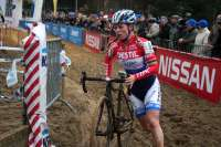 Van den Brand ran away with the win. by Lea De Winne
