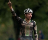 Jeremy Powers takes a big win on Day 1 of the UCI3 Festival. © Mitch Clinton