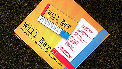 The Dr. Will Bar is surprisingly moist, and we think really tasty!