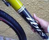One sticking point: The gap between the shift cables and the downtube can catch your fingers. © Cyclocross Magazine