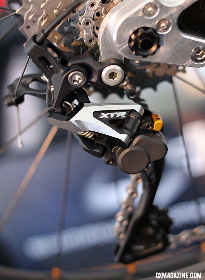 Shimano Adds Shadow Plus Derailleur to XTR, Adds New Pedals and