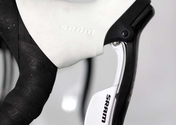 SRAM Apex components gets a white option for 2012