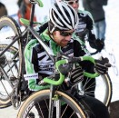 Vermonter Jamey Driscoll during cyclocross here, and now sitting 49th in the Amgen Tour of California.