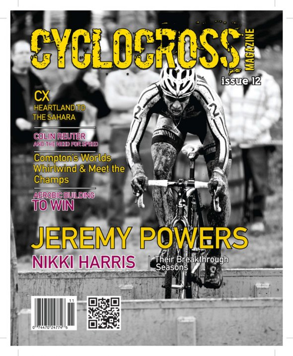 Cyclocross Magazine Issue 12 Cover