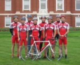 The Rutgers Cycling Team, pre-Vareschi, in 2003 © Rutgers Cycling