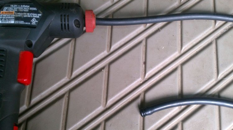 The Craftsman Cordless Inflator could change the way you pump up your tires. Chris Mayhew