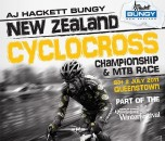 In New Zealand, cyclocross season is happening now.