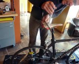 Look carefully and do your research when picking a bike fitter. Photo courtesy of Clifford Lee