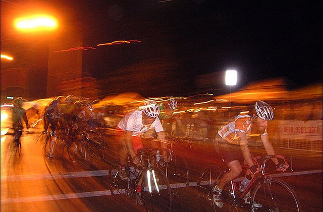 Criterium racing as training for cyclocross: a smart move for speed. Photo from flickr, fasterpandakillkill