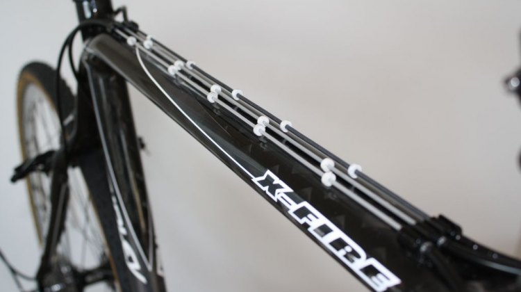The newly improved shifting on this built up Ridley X-Fire. Jeremy Chinn