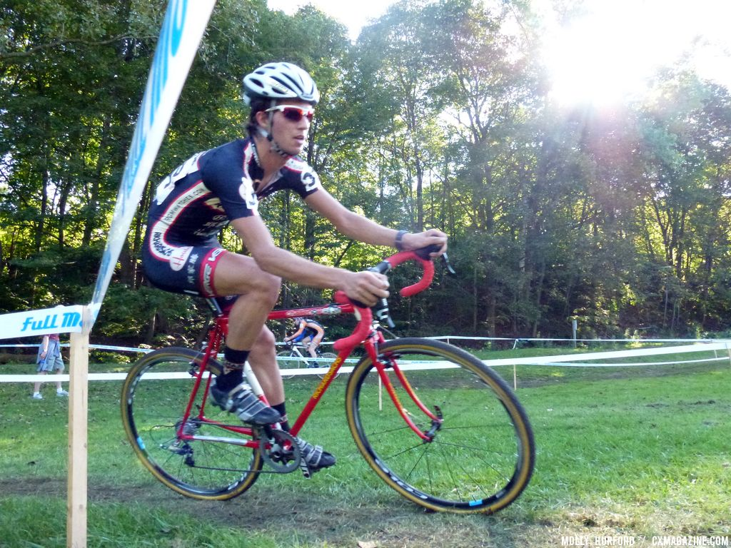 Dan Chabanov has been racing for the Richards Sachs team dating back to 2011. © Cyclocross Magazine