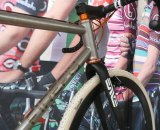 The ENVE fork on the new Firefly Ti. Ken Bloomer
