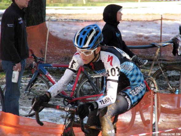 Nikke Thiemann proved that she was a force to be reckoned with on the UCI circuit this weekend. Cyclocross Magazine