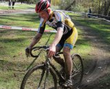 The muddy course made for exciting racing. © Keith Hower