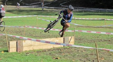 Barriers at Monster Cross. Keith Hower