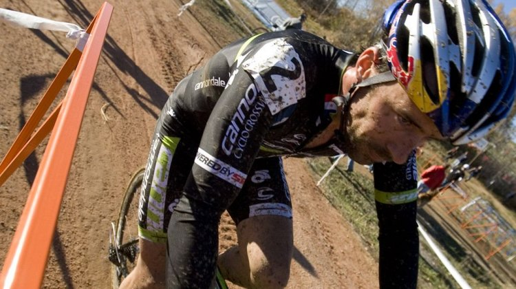 Tim Johnson on course for day two of Boulder Cup. Greg Sailor