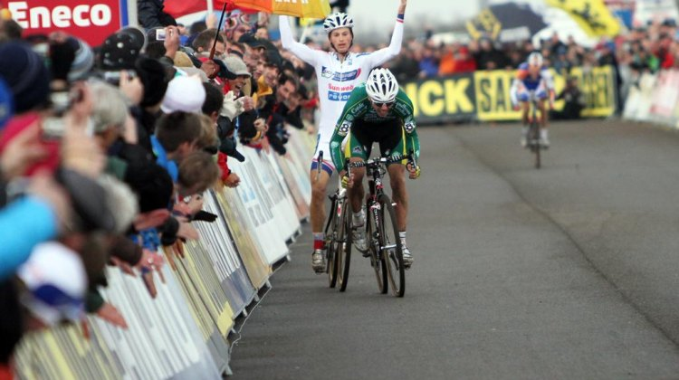 Nystook another win today at Scheldecross. ©Bart Hazen