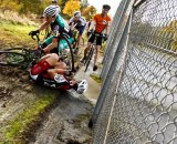 Early race carnage