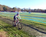 Durrin riding to a fourth place finish at CSI Day 1. Cyclocross Magazine