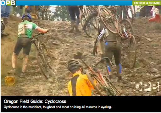 Oregon Publicc Broadcast Cyclocross