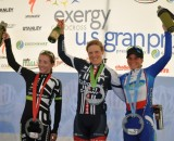 The women's podium. © Rick Mace