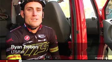 Ryan Trebon talks with Taylor Kruse about his big Cincy3 Day 2 win. ©Taylor Kruse