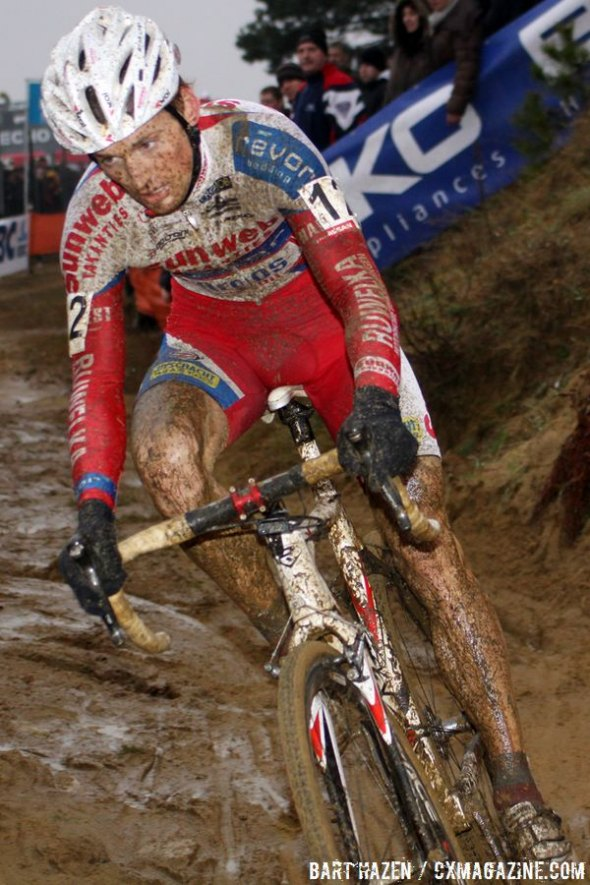 File photo: Kevin Pauwels on track to win the 2011 Zolder World Cup. ©Bart Hazen