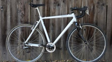 We built this bike of all-new parts for just over $500 and raced it without breaking a thing. © Cyclocross Magazine