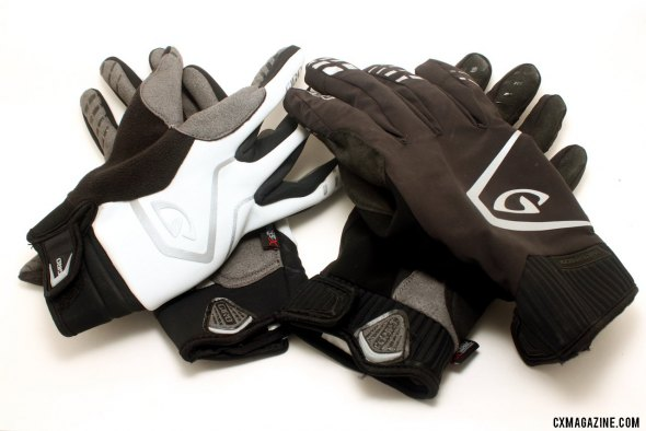 Giro's Ambient and Pivot Cycling gloves keep you warm and dry for true cyclocross conditions. © Cyclocross Magazine
