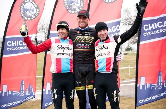 Jones, Trebon and Powers scored the podium spots Saturday. ©Liz Farina Markel