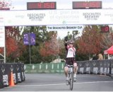 Logan Owen taking the junior race at the Deschutes Brewery USGP.
