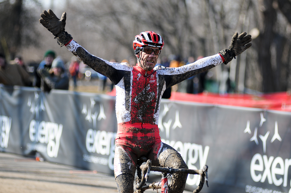 Ned Overend has won nearly everything he has attempted. How will his Crusher debut go? Stay tuned. photo: 2012 Cyclocross Nationals. © Steve Anderson