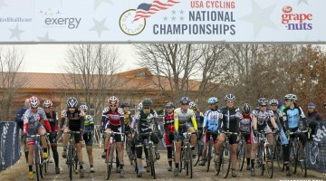 2012 Cyclocross National Championships Women 35-39 Start