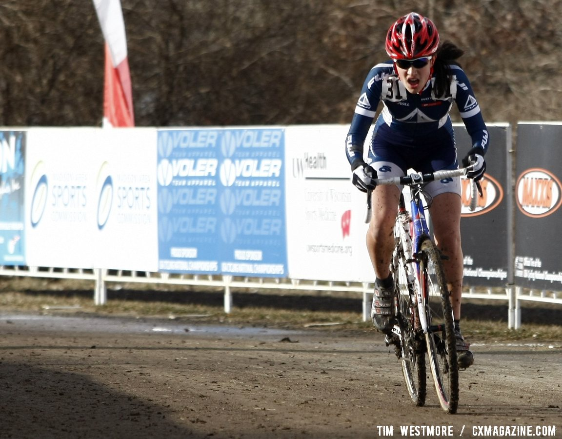 4d57ab16d Mina Anderberg wins the 13-14 junior women s title - 2012 Cyclocross  National Championships.